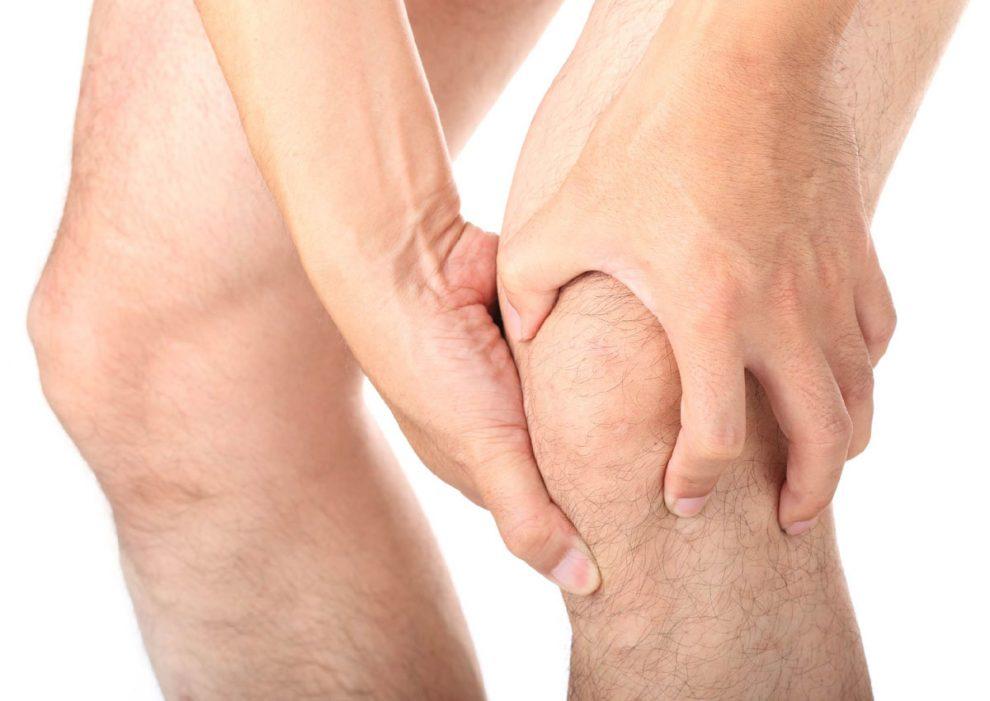 cu durere în articulațiile genunchiului cu o creștere