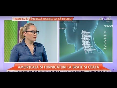 osteocondroza cervicală și dureri articulare