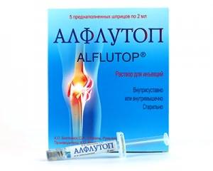 Curs de tratament cu alflutop pentru artroză. Artritice tratamentul articulațiilor ALFLUTOP