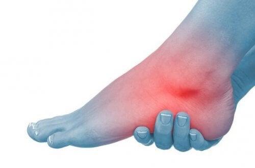 durere bruscă în articulațiile gleznei