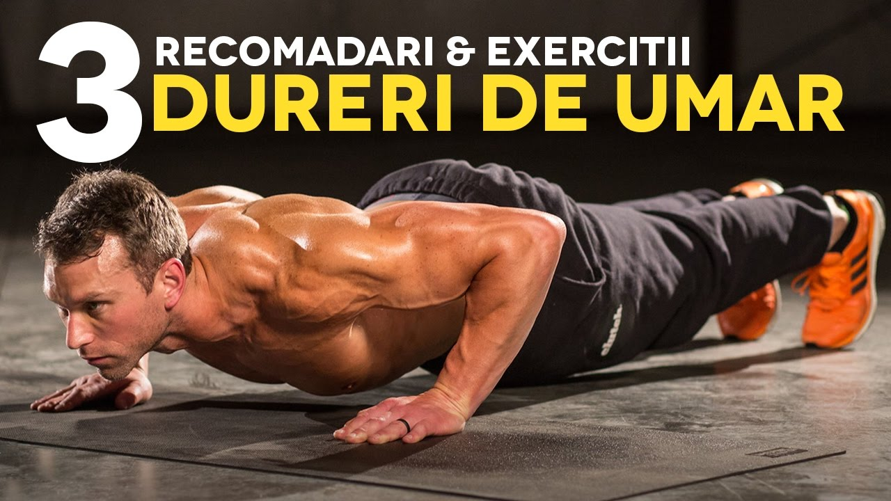 exerciții fizice pentru durere în articulațiile umărului
